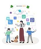 교육 (주제), 어린이 (인간의나이), 학생, 교사, 교과목, 초등교육 (교육), 개학 (교육), Virtual Reality Simulator (Computer Equipment)