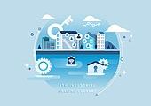 비즈니스, 신기술, 4차산업혁명 (산업혁명), 기술, 발전 (컨셉), 보안 (컨셉), 열쇠