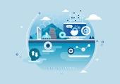 비즈니스, 신기술, 4차산업혁명 (산업혁명), 기술, 발전 (컨셉), AI, 인공지능, 로봇
