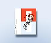 책표지, 포트폴리오, 트렌드, 작품집 (서류가방), 추상 (구도), 잡지 (출판), 파스텔톤 (색상강도)