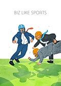비즈니스, 스포츠, 비즈니스맨, 슈트 (옷), 럭비 (구기), 달리는 (신체활동)