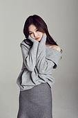 한국인, 여성, 스웨터 (상의), 겨울, 뷰티