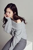 한국인, 여성, 스웨터 (상의), 겨울, 뷰티, 스트레스, 걱정 (어두운표정)