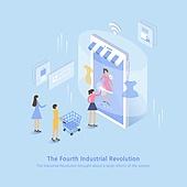 기술, 라이프스타일, 4차산업혁명 (산업혁명), 신기술, 스마트폰, 와이파이, 쇼핑