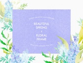 꽃, 백그라운드, 색연필, 봄, 아름다움, 청첩장, 초대장, 뷰티, 프레임, 축하이벤트 (사건)