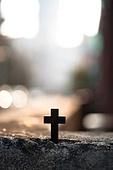 십자가,부활절,고난주간,사순절,언덕,햇빛,역광,고난,고통