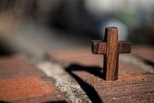 십자가,부활절,고난주간,사순절,나무십자가,하늘,파랑,언덕,고난