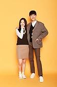 한국인, 십대 (인간의나이), 고등학생, 교복, 미소, 어깨동무