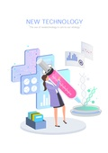 기술, 4차산업혁명 (산업혁명), 신기술, 발전 (컨셉), 연구 (주제), 주사기, 생명공학, 의학 (과학)