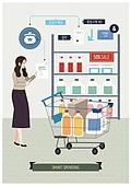 지출 (컨셉), 소비, 라이프스타일, 지성 (컨셉), 쇼핑, 쇼핑 (상업활동), 쇼핑카트