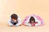 한국인, 어린이 (인간의나이), 한복, 전통문화 (주제), 한국명절 (한국문화), 미소, 예절, 큰절 (한국전통), 세배
