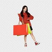 파워포인트 (이미지), PNG, 누끼, 한국인, 학생, 고등학생, 후드티셔츠, 쇼핑, 쇼핑백, 상업이벤트 (사건)