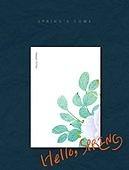 백그라운드, 봄, 캘리그래피 (문자), 파스텔톤 (색상강도), 프레임