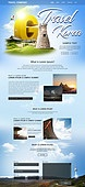 웹템플릿, 메인페이지 (이미지), 홈페이지, 레이아웃, 여행, 휴가, 랜드마크, 여행사, 관광 (여행)