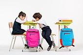 한국인, 어린이 (인간의나이), 초등학생, 학생, 수업중 (교육), 공부 (움직이는활동), 집중, 공부