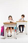 한국인, 어린이 (인간의나이), 초등학생, 학생, 수업중 (교육), 공부 (움직이는활동), 불안 (컨셉), 지루함 (컨셉)