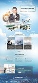 웹템플릿, 메인페이지 (이미지), 비즈니스, 비즈니스맨, 비즈니스 (주제), 글로벌, 도시