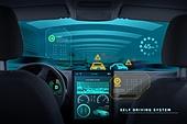 4차산업혁명 (산업혁명), 첨단기술 (기술), 무인자동차 (자동차), 인공지능, 사물인터넷, 컴퓨터네트워크 (컴퓨터장비)