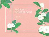 파워포인트, 메인페이지, 꽃, 라이프스타일, 아름다움, 초대장, 프레임, 봄
