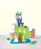 라이프스타일, 독신 (역할), 싱글라이프 (주제), 애완동물 (길든동물), 혼밥, 강아지