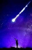 우주 (자연현상), 환상 (컨셉), 백그라운드, 유성 (우주)