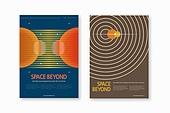 패턴, 도형, 포스터, 우주 (자연현상), 환상 (컨셉), 기술, 행성