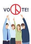 투표 (선거), 선거, 캠페인, 연례행사 (사건), 투표인증 (투표), 인증 (컨셉), SNS