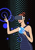 4차산업혁명 (산업혁명), 인공지능, 팝아트, 기술, 발전 (컨셉), Virtual Reality Simulator (Computer Equipment), 가상현실시뮬레이터 (컴퓨터장비)