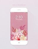 휴대폰 (전화기), 스마트폰, 백그라운드, 모바일템플릿, 백그라운드 (주제), 꽃