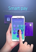 모바일결제 (금융아이템), 금융, 스마트폰, 전자상거래, 핀테크, 네트워크보안 (컴퓨터소프트웨어), 보안 (컨셉), 온라인쇼핑
