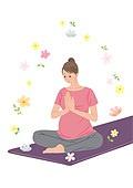 임신, 육아, 노산, 여성, 출산준비, 저출산 (컨셉), 요가, 명상 (컨셉)