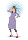 임신, 육아, 노산, 여성, 출산준비, 저출산 (컨셉), 현기증 (물체묘사), 임신 (물체묘사)