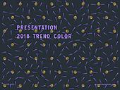 파워포인트, 메인페이지, 기하학모양, 패턴, 백그라운드, 컬러, 금