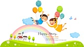 일러스트, 벡터파일 (일러스트), 가정의달, 5월, 가족, 부모, 어린이 (인간의나이), 어버이날 (홀리데이), 어린이날 (홀리데이)