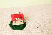 집, 미니어쳐 (공예품),부동산,보험,모형주택