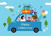 어린이 (인간의나이), 어린이날 (홀리데이), 프레임, 연례행사 (사건), 가정의달, 자동차, 선물 (인조물건)