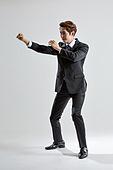 한국인, 비즈니스, 비즈니스맨, 행동 (모션), 활력 (컨셉), 공격 (컨셉)