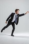 한국인, 비즈니스, 비즈니스맨, 행동 (모션), 활력 (컨셉), 잡기 (물리적활동)
