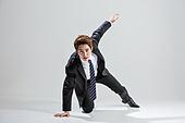 한국인, 비즈니스, 비즈니스맨, 행동 (모션), 활력 (컨셉)