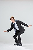 한국인, 비즈니스, 비즈니스맨, 행동 (모션), 모션, 활력 (컨셉), 균형 (컨셉)