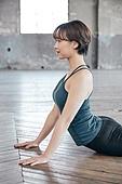 한국인, 여성, 요가 (이완운동), 다이어트, 건강한생활 (주제), 코브라자세