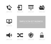 아이콘, 아이콘세트 (아이콘), 픽토그램, 플랫디자인 (이미지)