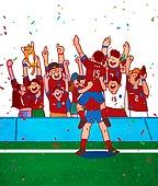환호 (말하기), 치어리더 (역할), 콘페티, 월드컵축구 (스포츠이벤트), 축구, 태극기, 환호