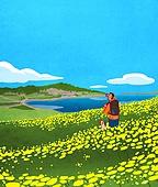 여행, 풍경 (컨셉), 여행지, 혼자여행 (여행), 꽃밭, 유채꽃 (식물), 제주시 (제주도)