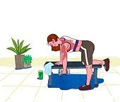 운동, 건강관리 (주제), 건강한생활 (주제), 스포츠트레이닝 (연습), 헬스클럽 (레저시설), 아령 (웨이트), 근육질 (사람체격)