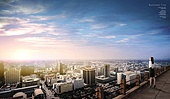 도시, 도시풍경, 비즈니스, 비즈니스우먼