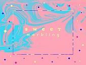마블효과 (얼룩덜룩), 유성물감 (페인트), 트렌드, 축하이벤트 (사건), 그래픽이미지, 백그라운드, 컬러풀, 유니크