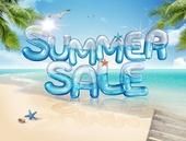 그래픽이미지 (Computer Graphics), 합성 (Computer Graphics), 여름, 여름 (계절), 상업이벤트 (사건), 문자 (문자기호)
