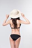 여성, 비키니, 여름, 다이어트 (체형관리)