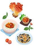 음식재료, 음식, 요리 (음식상태), 해산물, 멍게, 멍게비빔밥, 멍게회